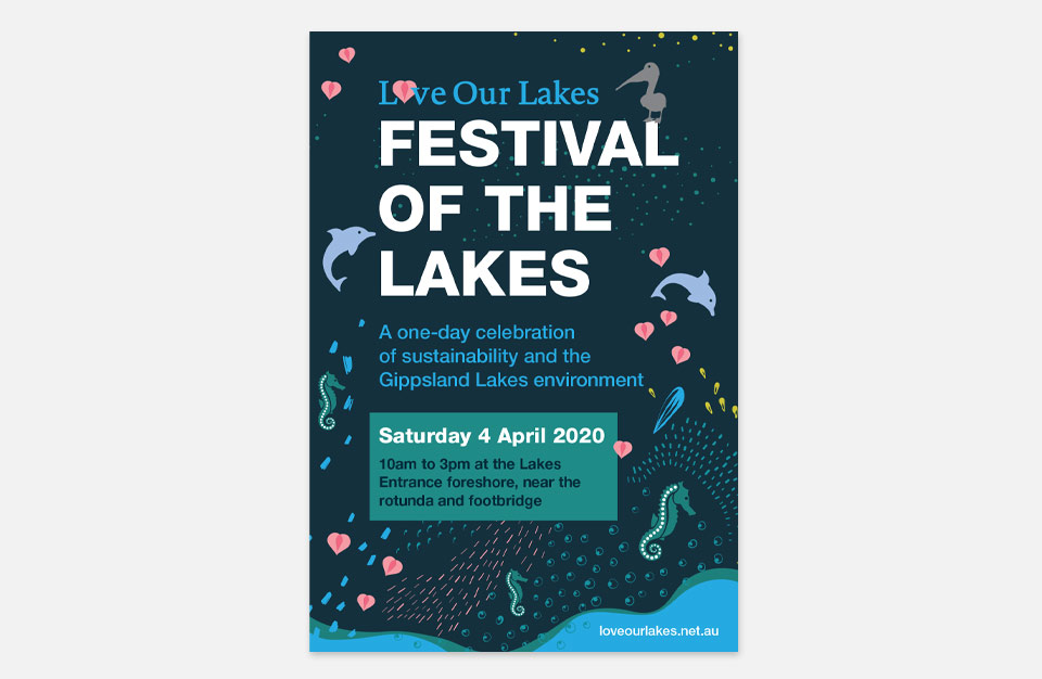 Poster for Festival of the Lakes event