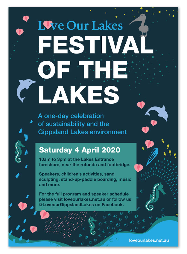 Poster for Festival of the Lakes 2020
