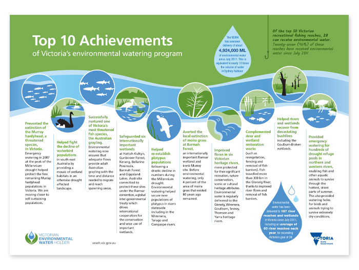 VEWH Achievements infographic
